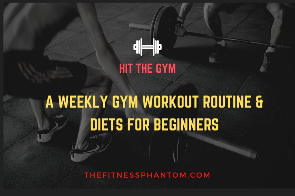 THE BEGINNERS WEEKLY WORKOUT ROUTINE & DIETS