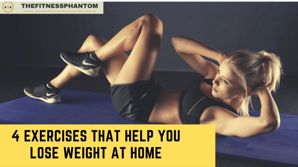 Exercises that help you lose weight at home
