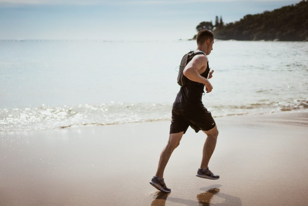 A full-body HIIT workout without equipment at home