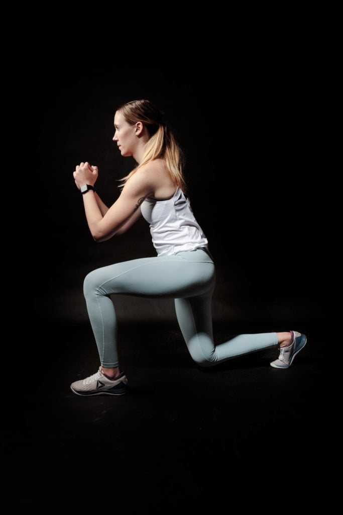 full-body HIIT workout without equipment at home
