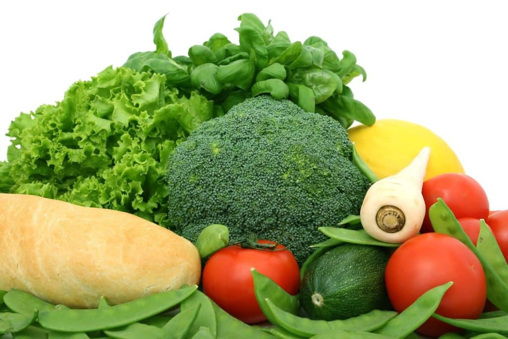 vegetables are low in calories and accelerate the weight loss process