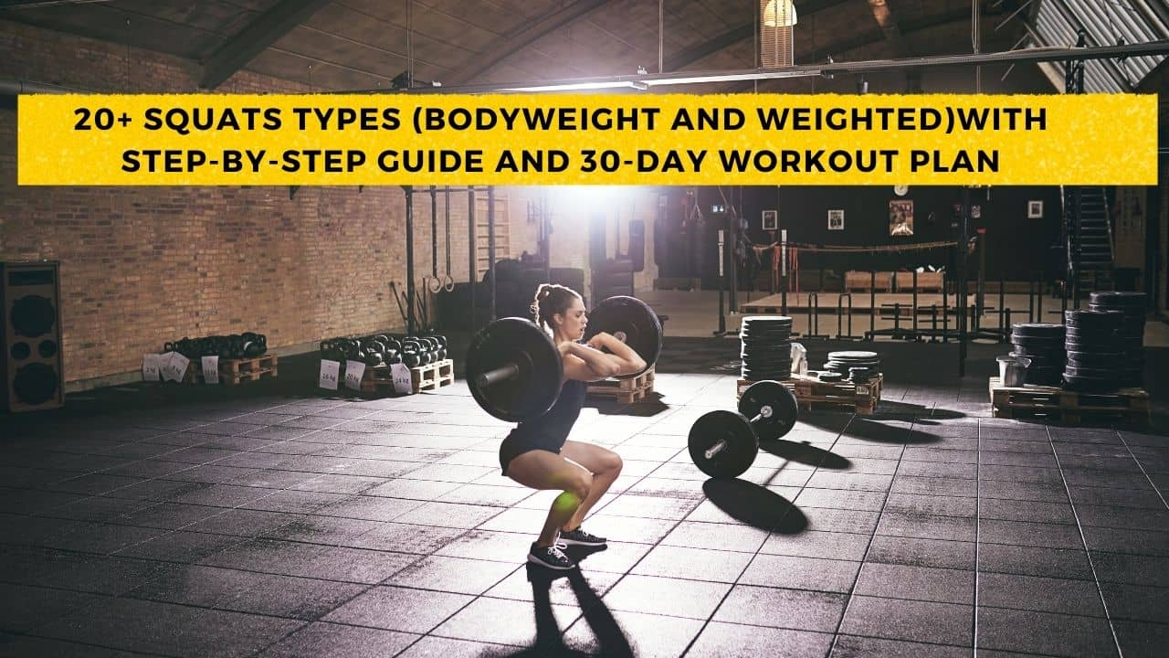 Different Types Of Squats Variations