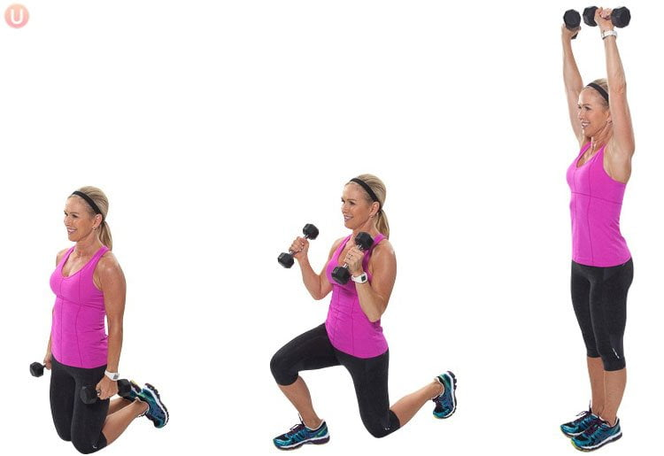 Dumbbell workouts to lose weight