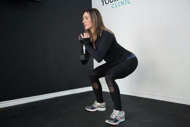 Quad dumbbell exercises