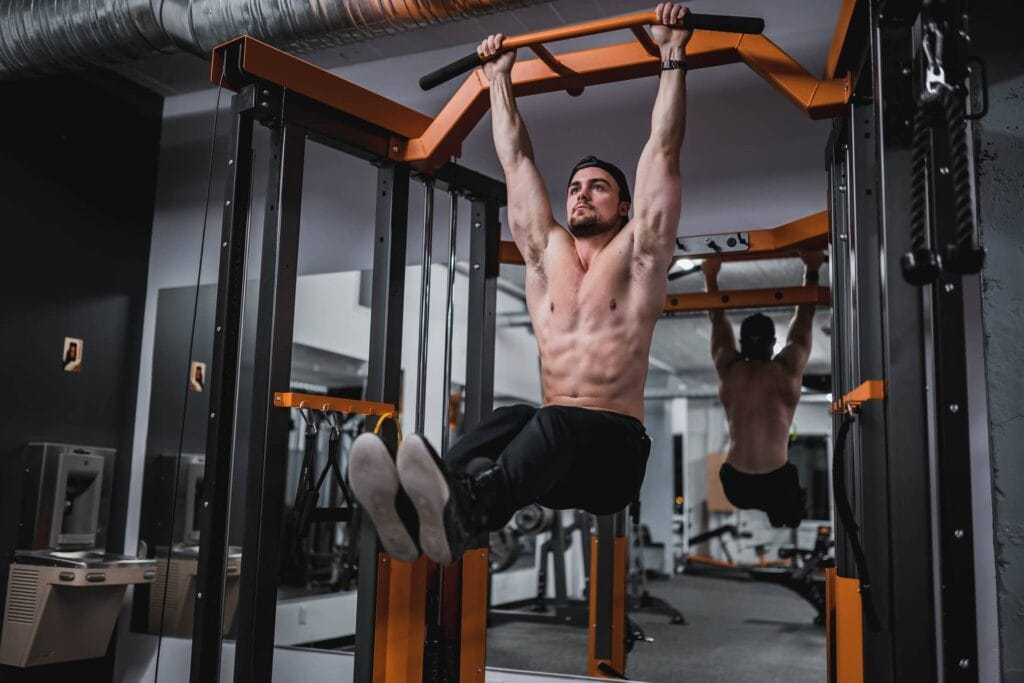 Pull-Up Bar Ab Workout