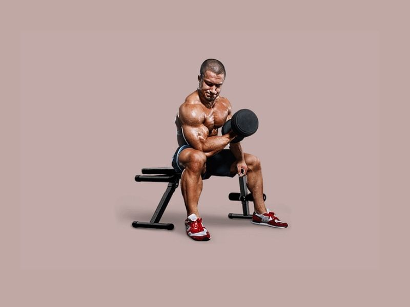 how to do the isometric exercises for the bicep