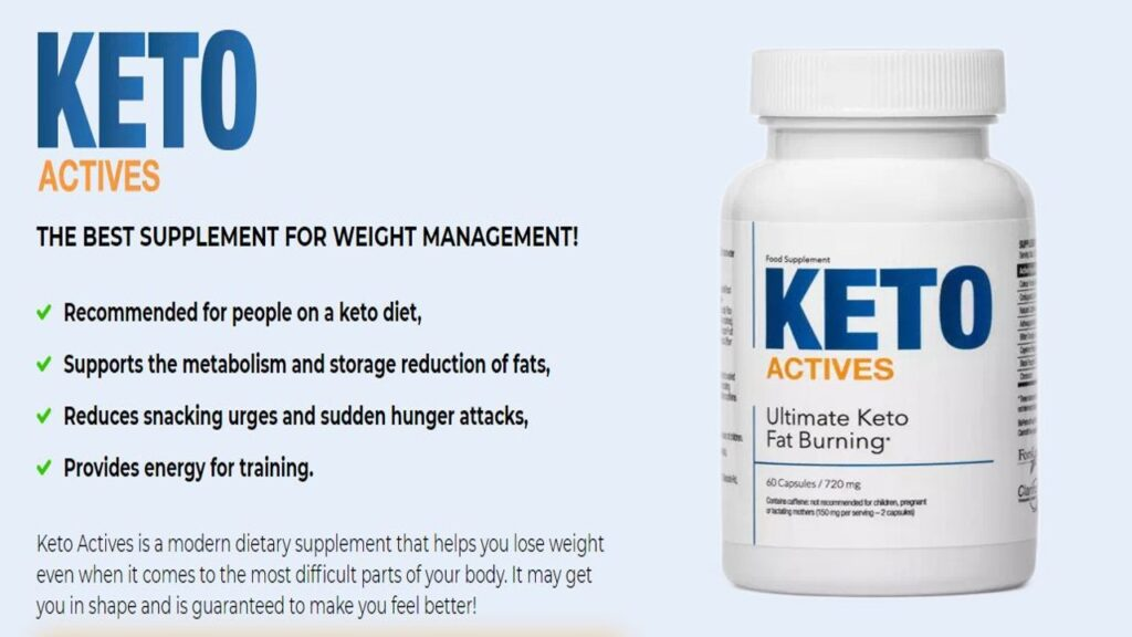 What Is Keto Actives And How Does It Helps In Fat Loss?