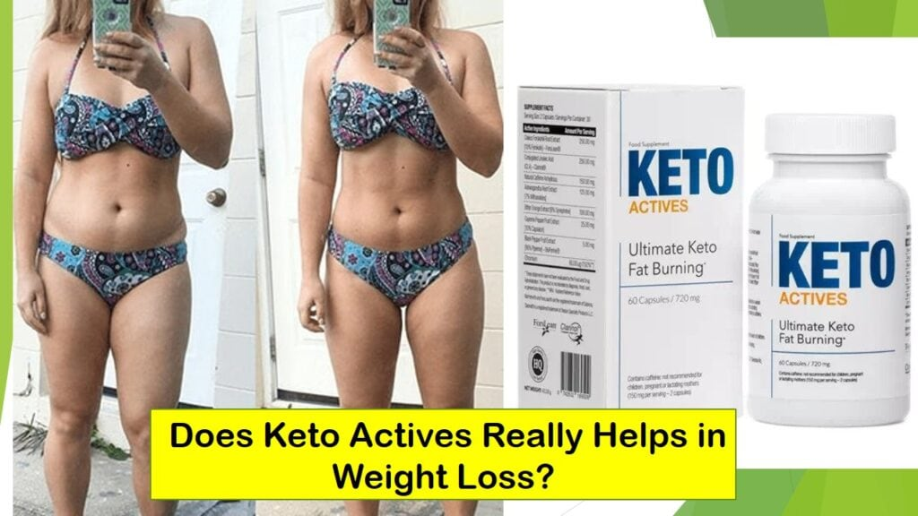 Keto Actives Supplement for Weight Loss