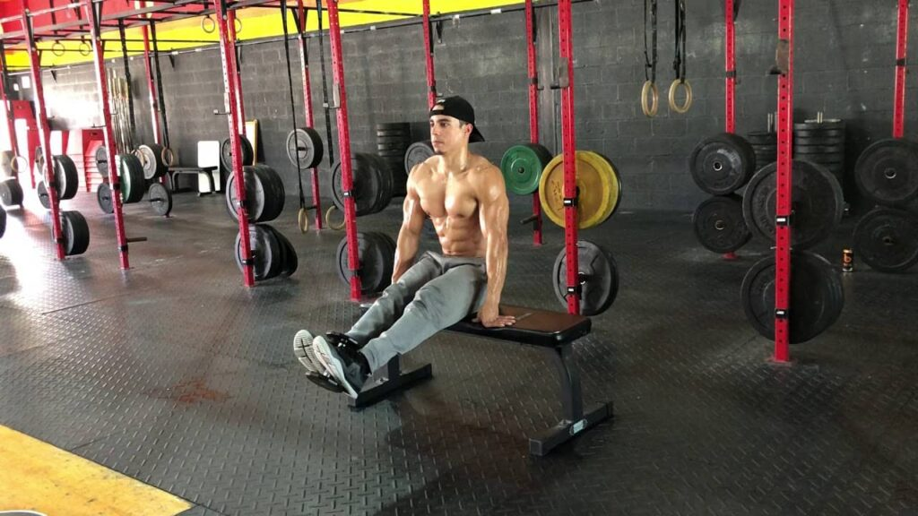 How to do Dumbbell Leg Extension at home