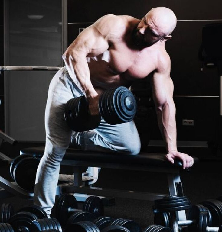 Dumbbell Rear Delt Exercises and Workout