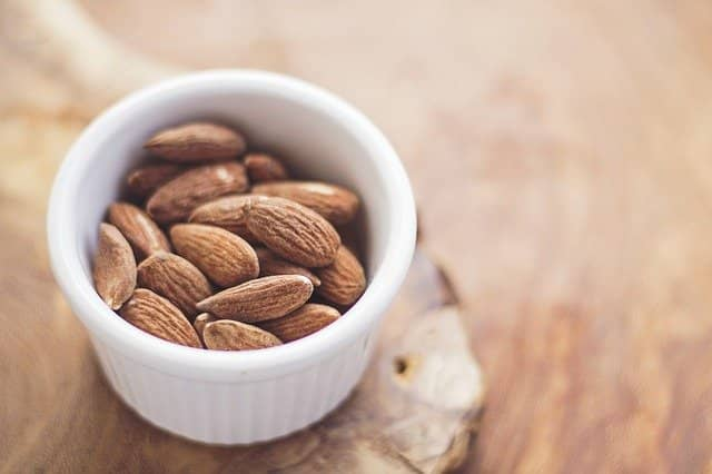 High protein almond strengthen and increase muscle mass