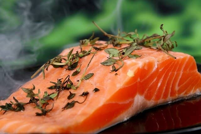 high protein salmon for weight gain