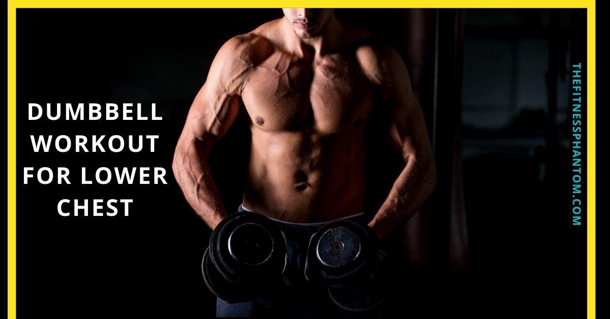 Dumbbell Exercises For Lower Chest