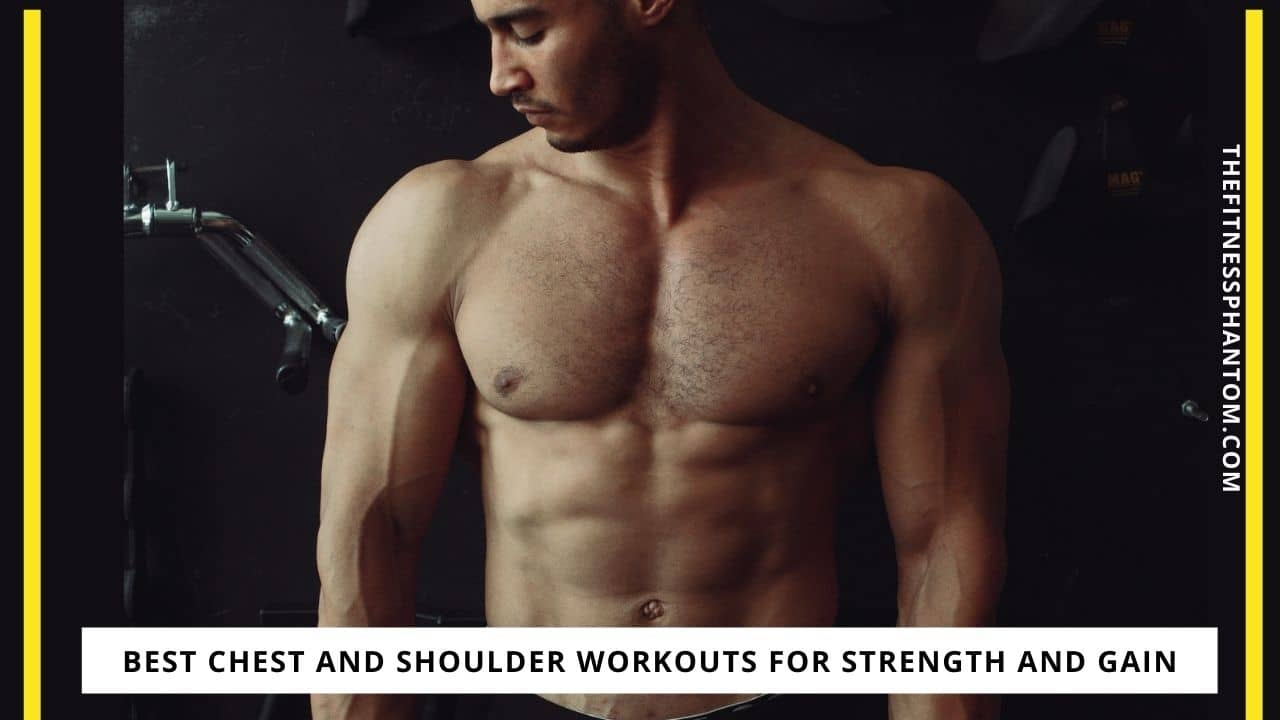 Best Chest and Shoulder Workouts For Strength and Gain