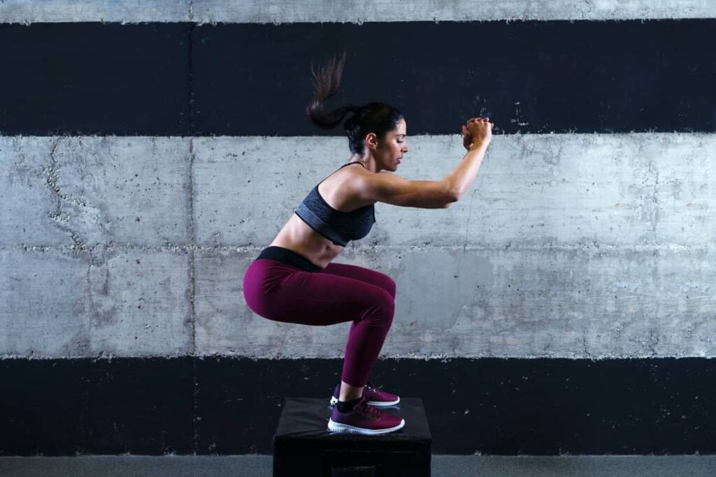 seated and standing calf raise exercises