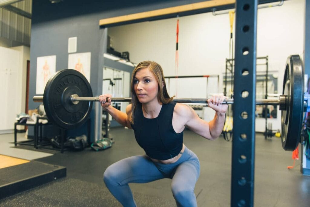 weighted squats types