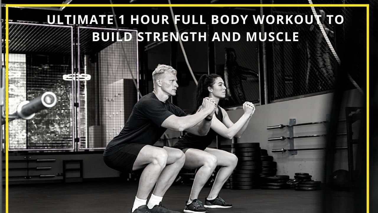 1 Hour Full Body Workout To Build Muscle