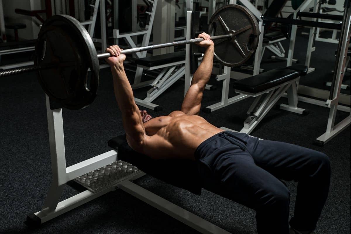 4 Day Push Pull Split - Bench Press (Push workout)