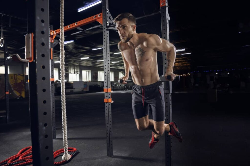 Biceps and Triceps Gym workout