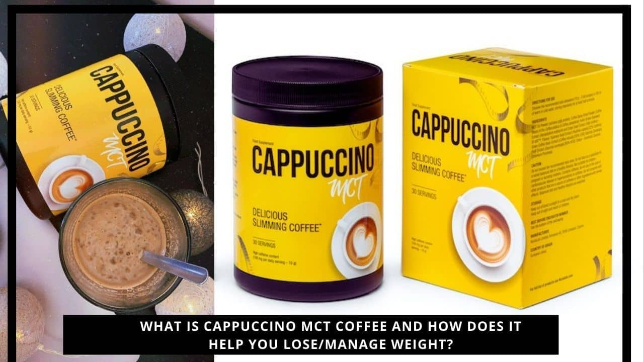 Cappuccino MCT Coffe For Weight Loss