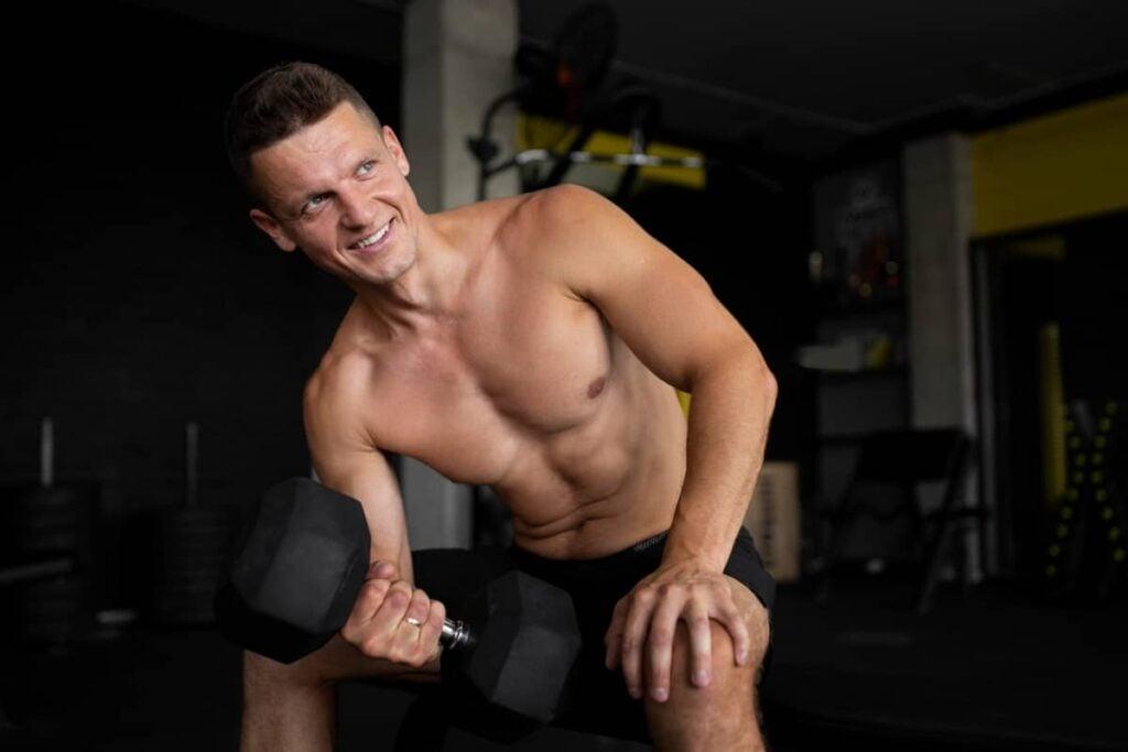 gym bicep tricep workout
