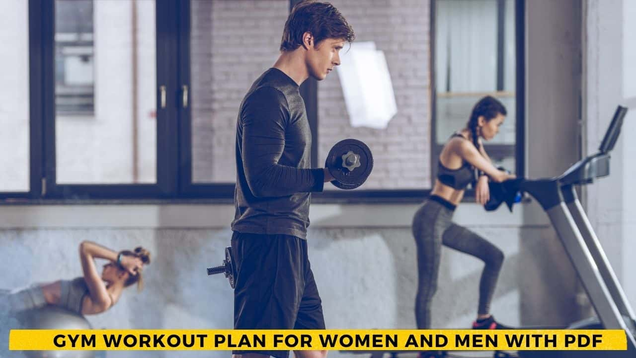 Gym Workout Plan For Women