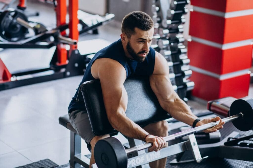best biceps and triceps exercises at the gym