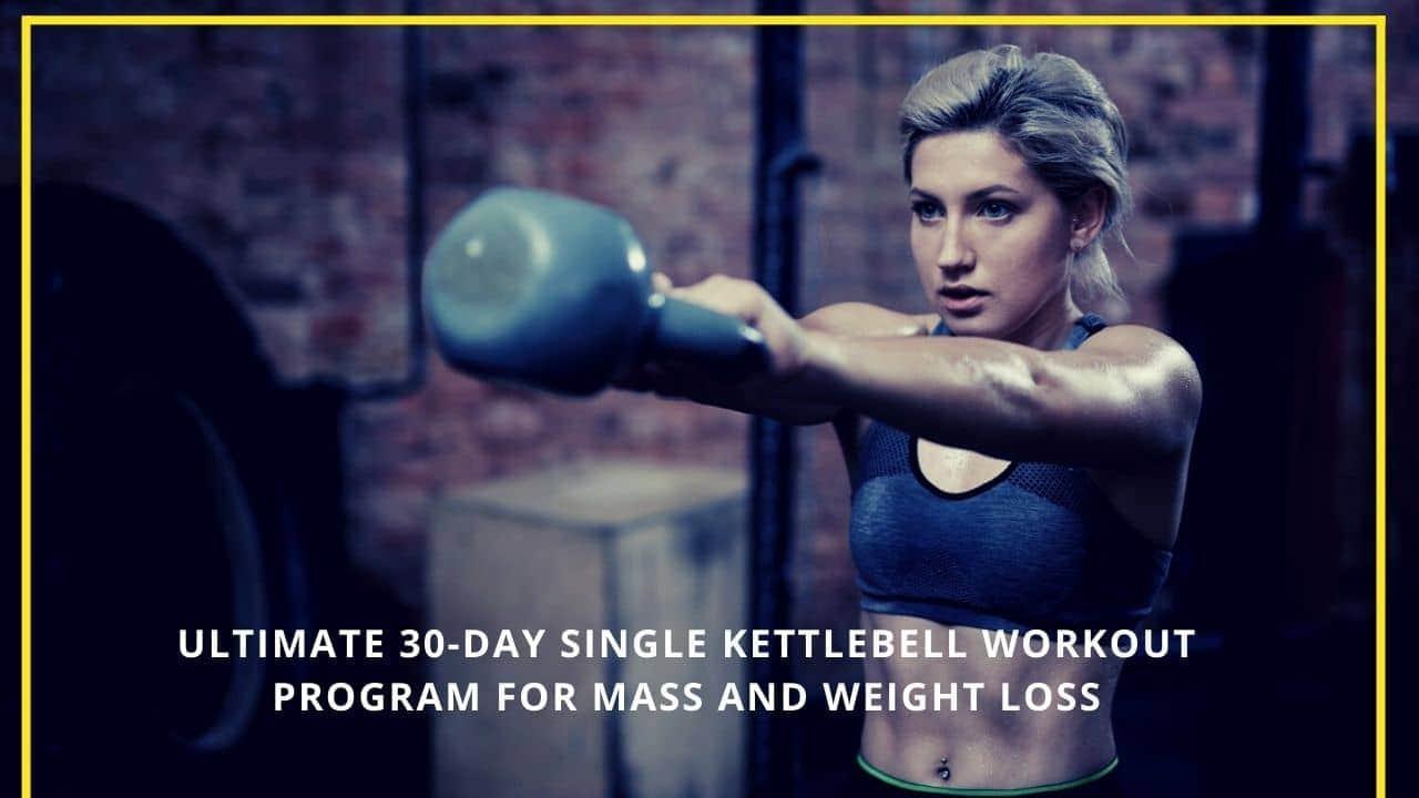 Single Kettlebell Workout Program