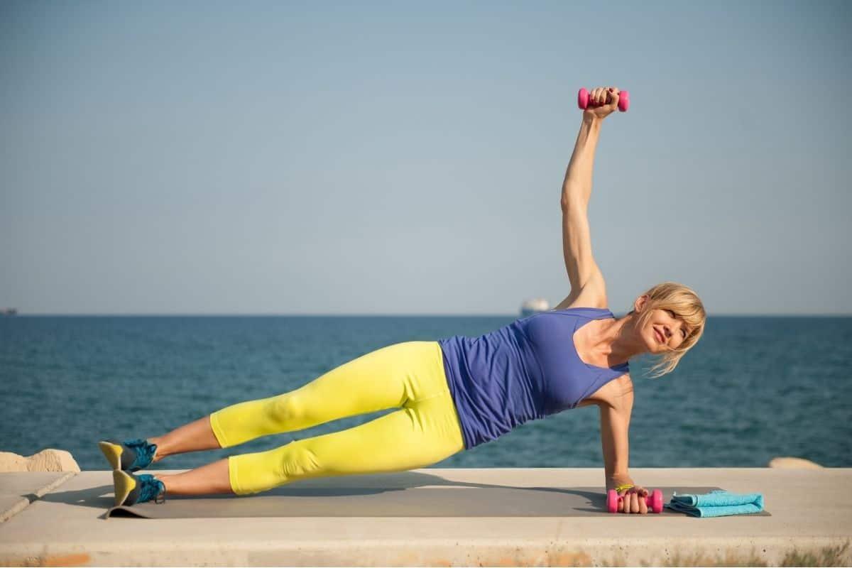 Dumbbell Side Plank