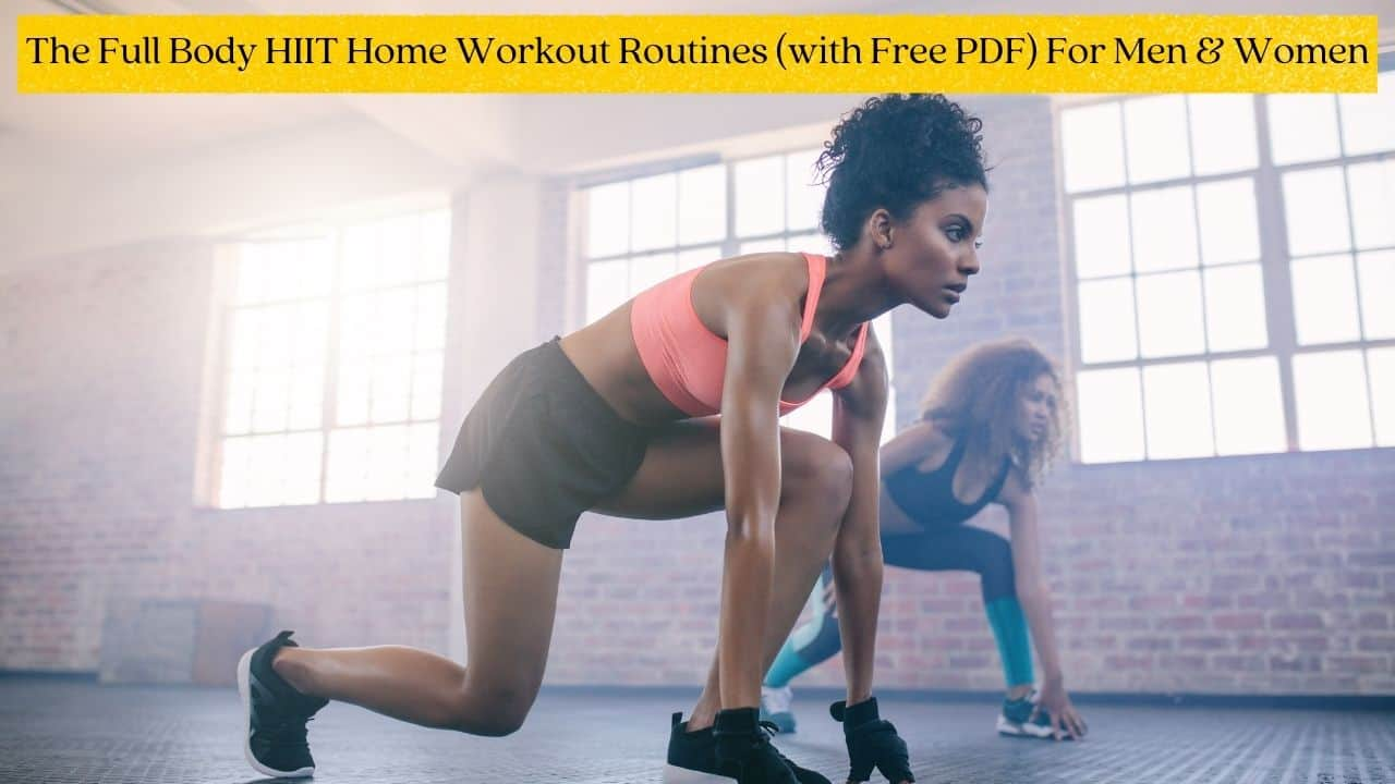 The Best Weekly HIIT Workout Plan